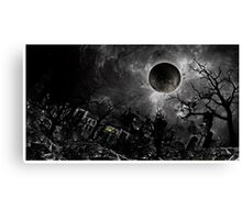The Beauty in Decay Canvas Print