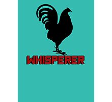 Cock (rooster) whisperer Photographic Print