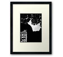 Tir an Og garden of eternal youth Framed Print