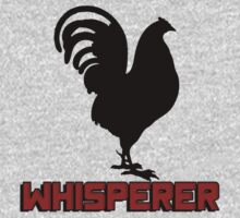 Cock (rooster) whisperer by bakery
