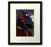 Ultimate Spider-Man Framed Print