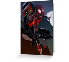 Ultimate Spider-Man Greeting Card