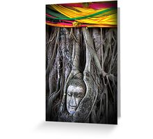Buddha and the Tree Greeting Card
