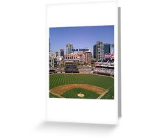 San Diego Home of Baseball Fever Greeting Card