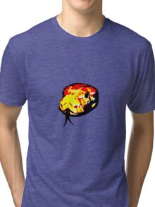 Burmese Python Tri-blend T-Shirt
