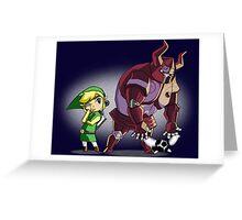 Big Zelda 6 Greeting Card
