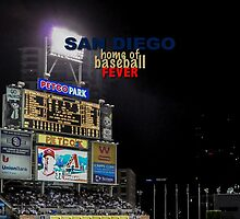 Padres Baseball by don thomas