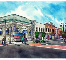 Downtown Georgetown NorthEast Corner - www.jbjon.com by Jonathan Baldock