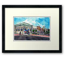 Downtown Georgetown NorthEast Corner - www.jbjon.com Framed Print