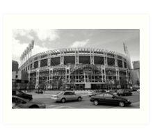 Jacobs Field - Cleveland Indians Art Print
