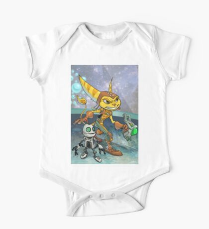 Ratchet and Clank One Piece - Short Sleeve