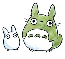 My Totoro Artwork ! by Paul Gautier