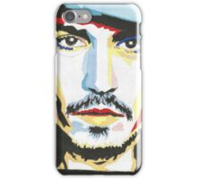 Johnny Depp, 1st painting. iPhone Case/Skin