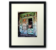 Ice Cream Parlor ~ Pinos Altos, NM Framed Print