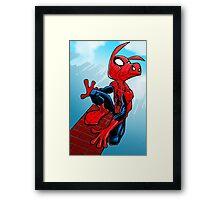Spider-Ham Framed Print