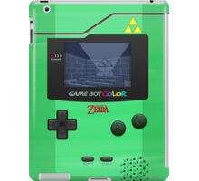 Gameboy Color Zelda Triforce Logo iPad Case/Skin