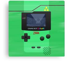 Gameboy Color Zelda Triforce Logo Canvas Print