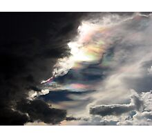 Prismatic Sky Photographic Print