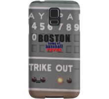 Boston Home of Baseball Fever Samsung Galaxy Case/Skin