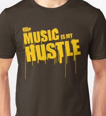 ghettostar music hustle YELLOW Unisex T-Shirt
