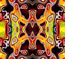 Faces In Abstract Shapes 5 by Phil Perkins
