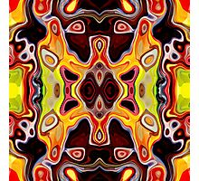 Faces In Abstract Shapes 5 Photographic Print