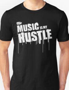 ghettostar music hustle WHITE Unisex T-Shirt