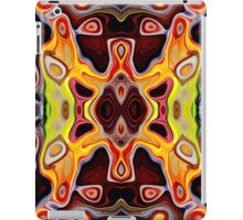 Faces In Abstract Shapes 5 iPad Case/Skin