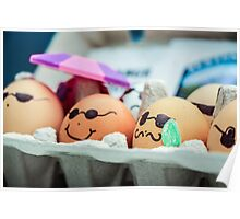 Decorated Eggs at the Portland Farmers Market Poster