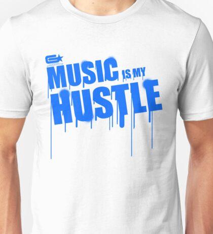 ghettostar music hustle BLUE Unisex T-Shirt