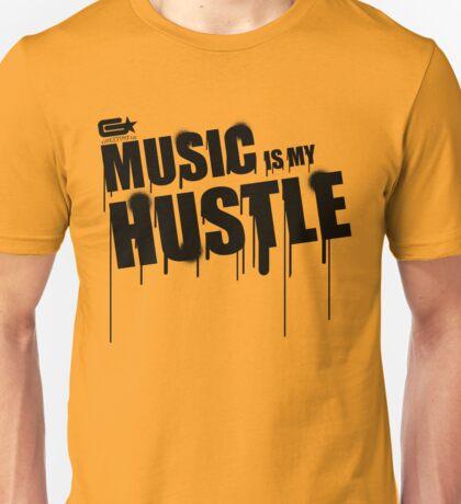 ghettostar music hustle BLACK Unisex T-Shirt