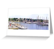Porto Christo Harbour III Greeting Card