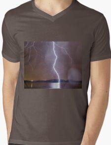 Thunderstruck Mens V-Neck T-Shirt