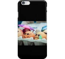 Decorated Eggs at the Portland Farmers Market iPhone Case/Skin