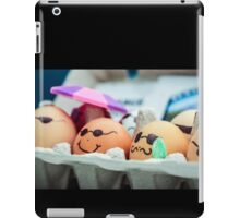 Decorated Eggs at the Portland Farmers Market iPad Case/Skin