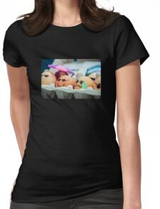 Decorated Eggs at the Portland Farmers Market Womens Fitted T-Shirt