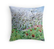 Spring is coming soon Throw Pillow