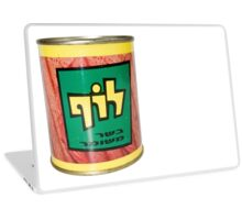 Cutout of a tin of Luf, Israeli Kosher SPAM  Laptop Skin