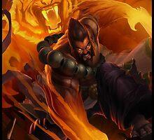 Udyr Spirit Guard Tiger - League of Legends by RedBoy123