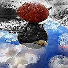Orange rock by donna56455