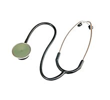 Cutout of a stethoscope on white background by PhotoStock-Isra