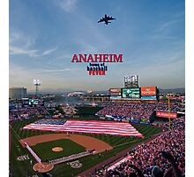 Anaheim Home of Baseball Fever Photographic Print