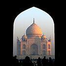 Taj Mahal in the Light of Dawn by fatfatin