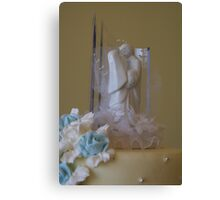 Cake Topper Canvas Print