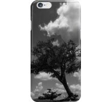 Analog tree iPhone Case/Skin