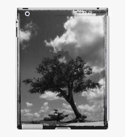 Analog tree iPad Case/Skin