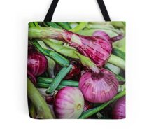 Farmers Market Red Onions Tote Bag