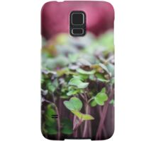 Colorful Sprouts Samsung Galaxy Case/Skin