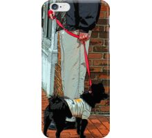 Standing On the Corner As Time Passes By iPhone Case/Skin