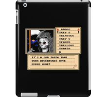 NES Grim Reaper Game Screen iPad Case/Skin